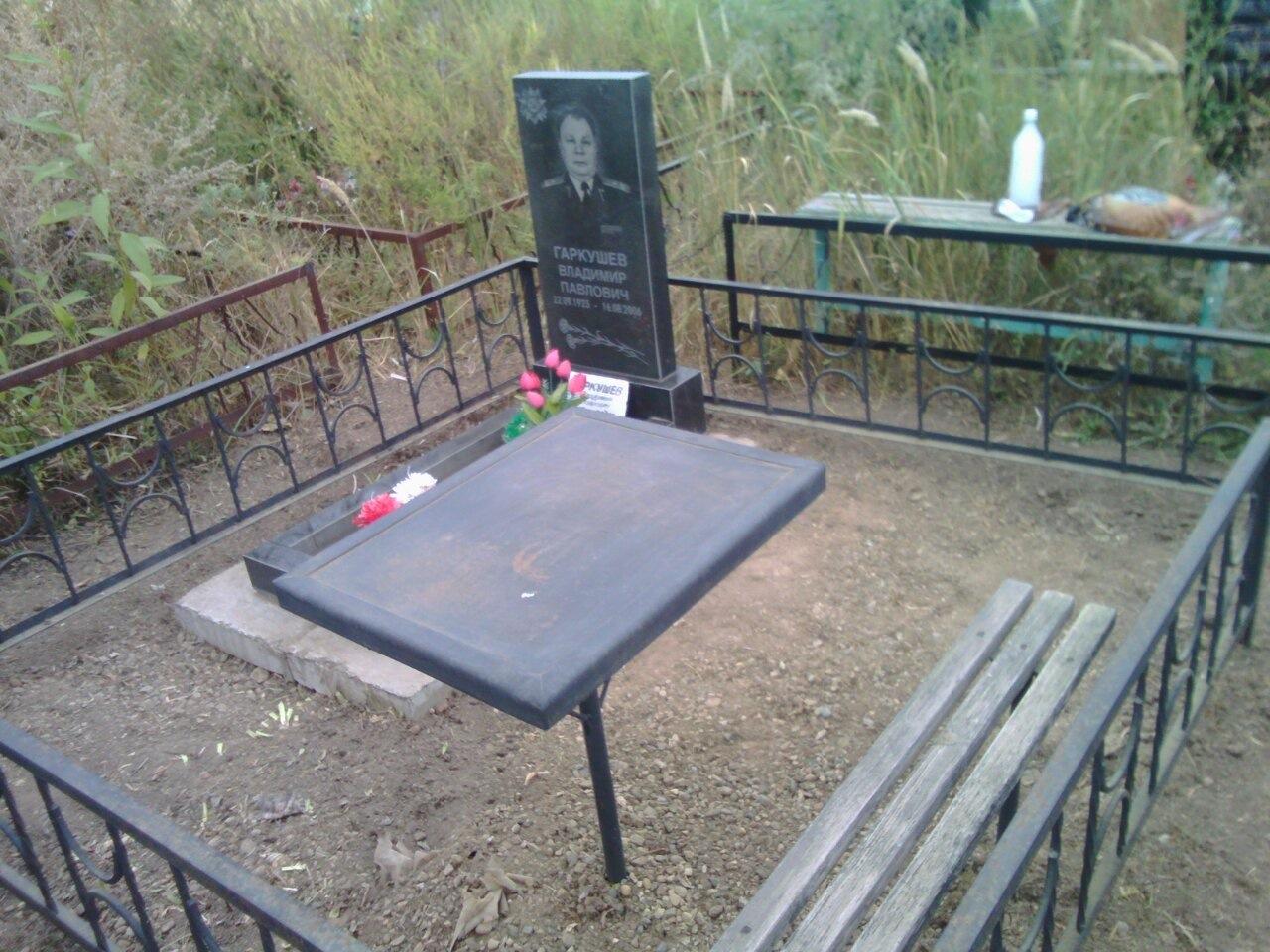 Уход за могилами - после