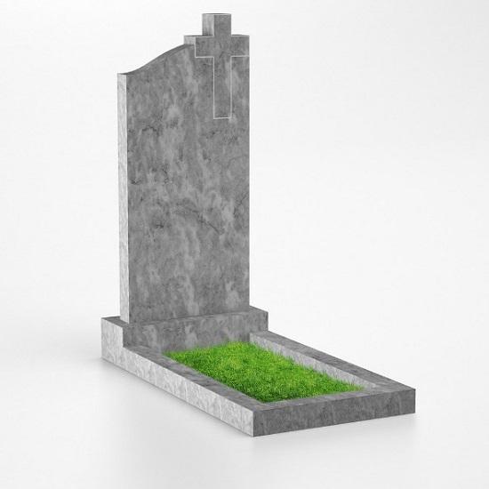 Мраморный памятник 7