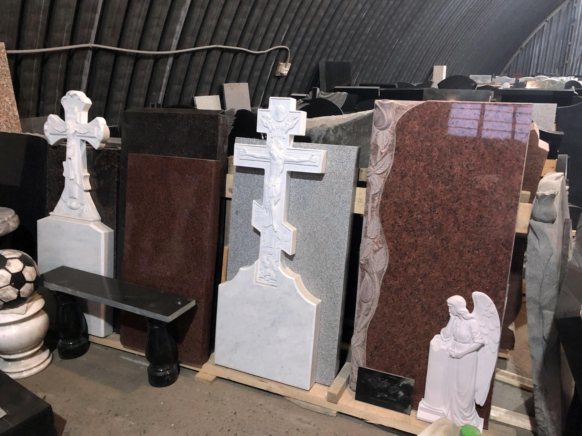 Ремонт памятников на кладбище