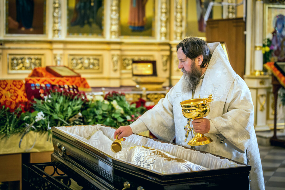 Похороны по православной традиции